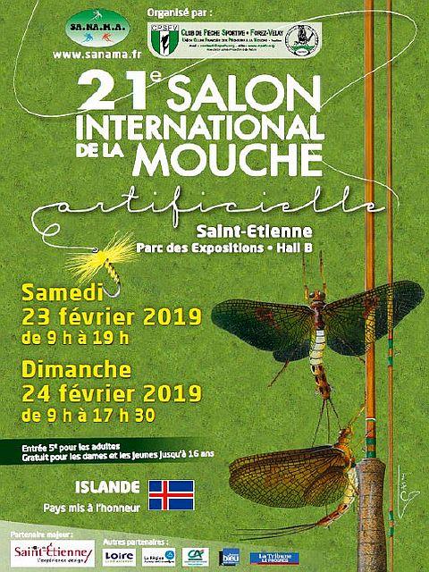 23 et 24 fevrier 2019 salon de la peche a la mouche de saint etienne f d ration de p che des - Salon de la peche a la mouche ...